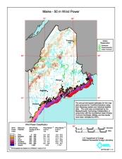 NREL wind Map